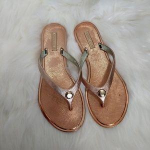 Shoes - ~ Rose Gold Sandals